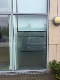 Glass Door Frosting