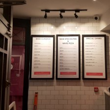 Restaurant Menu Signs