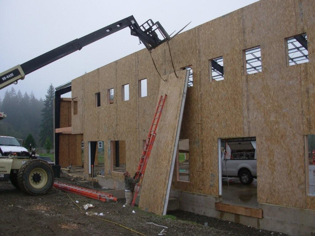 All together now sips offer a more efficient envelope for Sip house construction