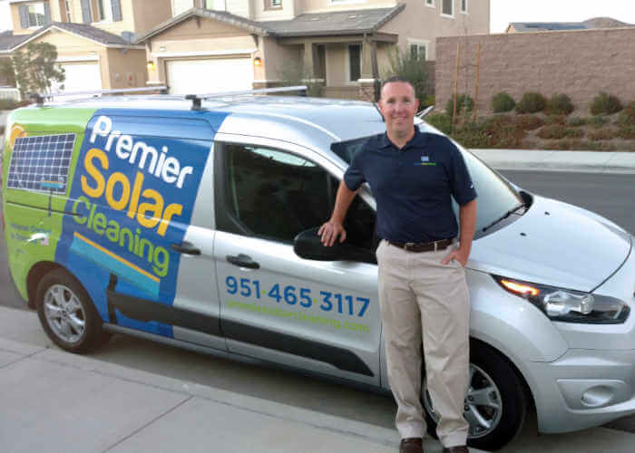 Adam Fuller, Owner of Premier Solar Cleaning