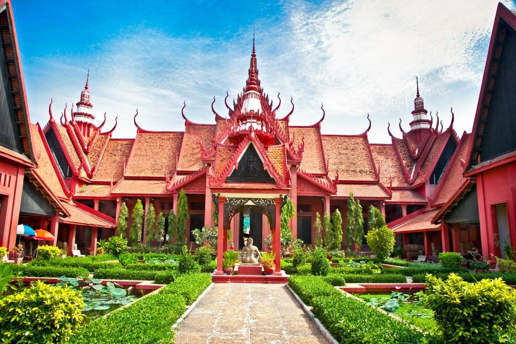 Building in Cambodia