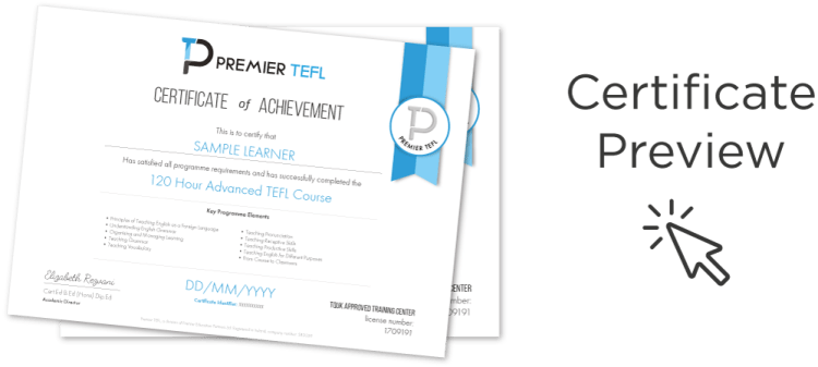 120 cert preview - 4 Week TEFL Course: Everything You Need to Know