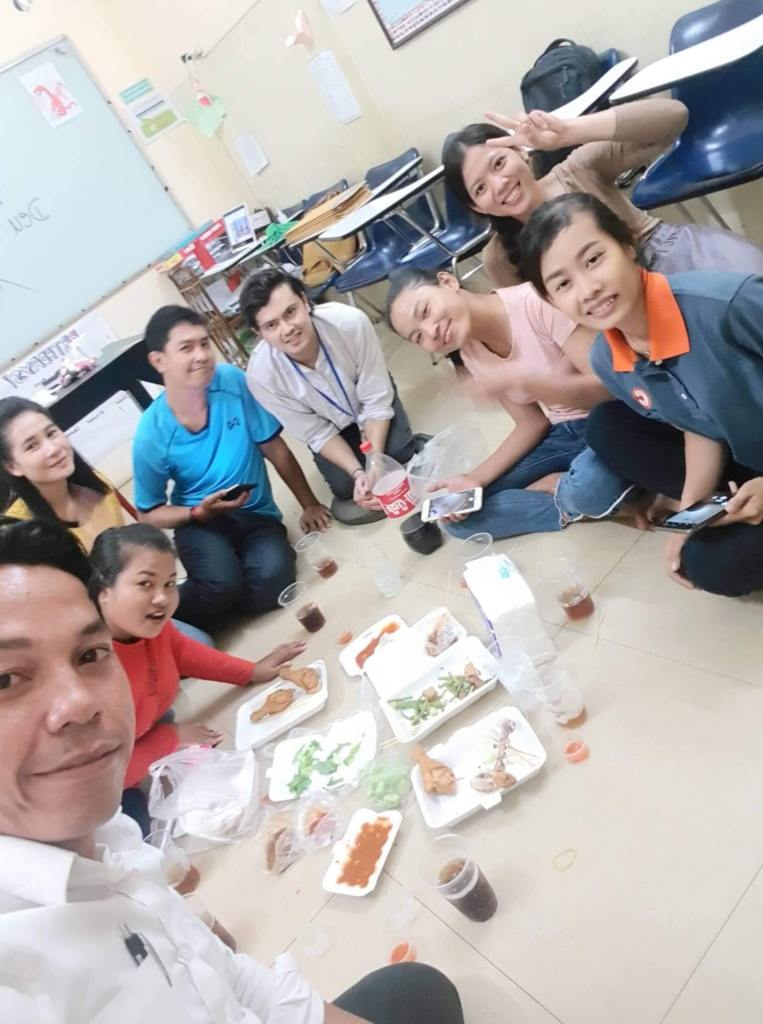 Anton with his TEFL students in Cambodia 763x1024 - Sweden to Cambodia: Meet Anton Hedlund