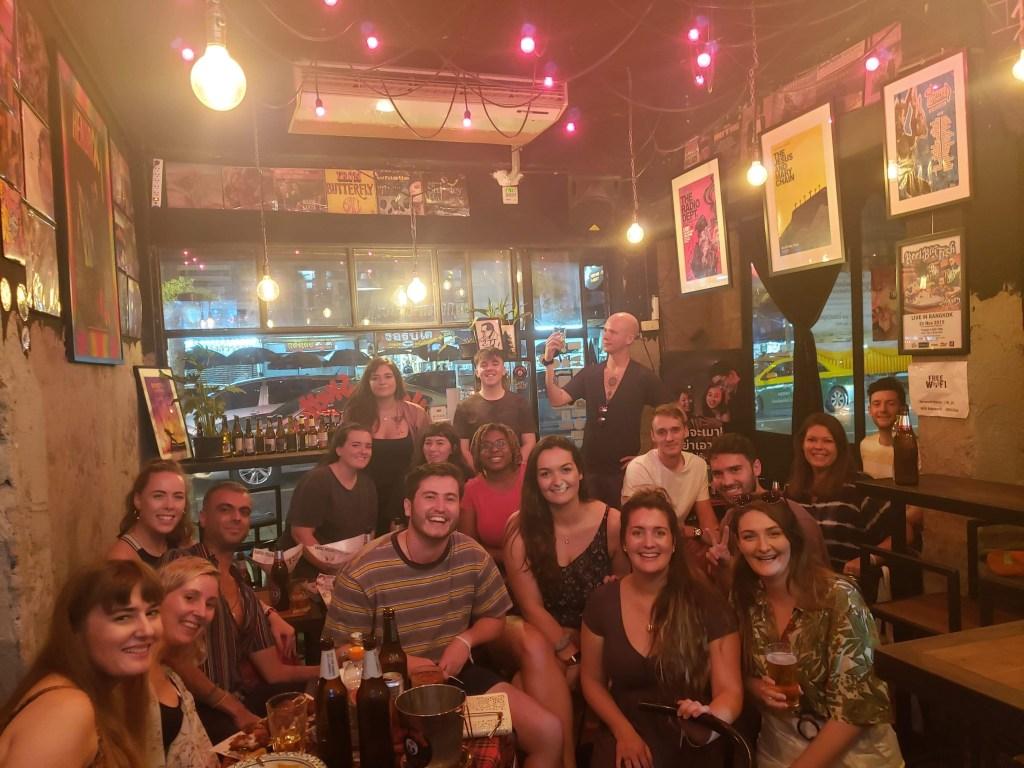 TEFL teachers in a bar in Thailand 1024x768 - Teaching English in Thailand - Meet Katie from Ireland