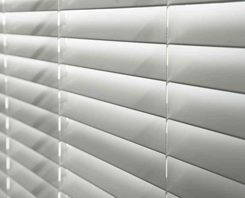 Blinds in a window