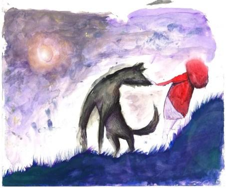 Clelia Catalano - 'Quando il lupo incontra Cappuccetto Rosso'