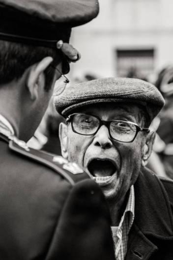Simone Sapienza - il Mio Paese sta Morendo - Fotografia, popolare_e