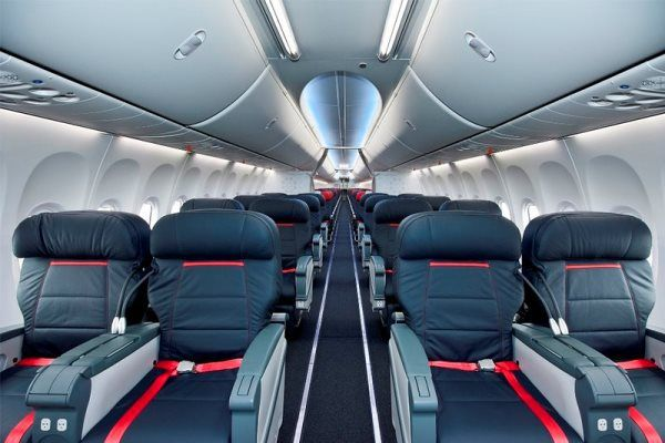 Turkish Airlines B737-800 Business Class (Photo by Pinterest)