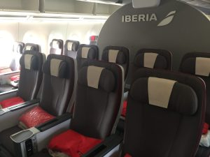 Iberia A350 Premium Economy (Photo by AirlineGeeks)