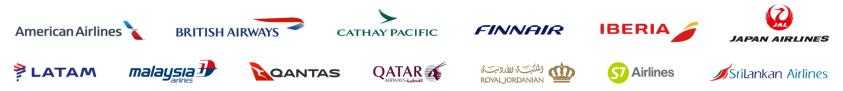 חברות התעופה בברית OneWorld