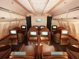 Oman Air Business Class (Photo by Oman Air)