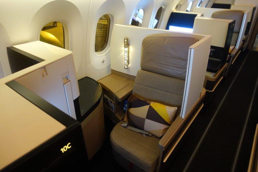 Etihad Airways 787 Business Class