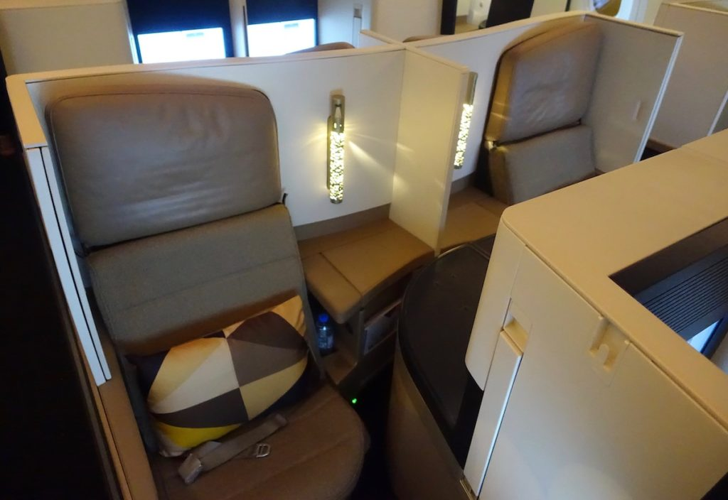Etihad Airways 787 Business Class