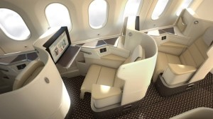 Saudia Airlines New 787 Business Class