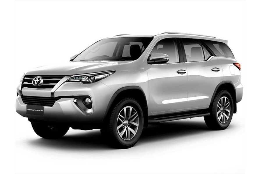 Toyota Fortuner o similar ($105.00)