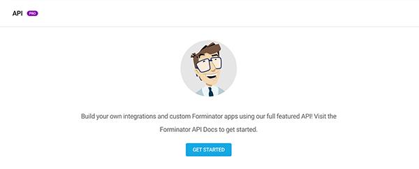 Forminator API