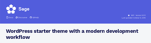 WordPress starter theme with a modern development workflow