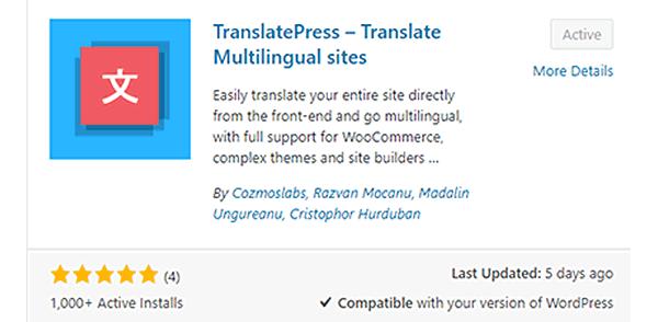 TranslatePress - powerfull premium translation plugin for WordPress themes