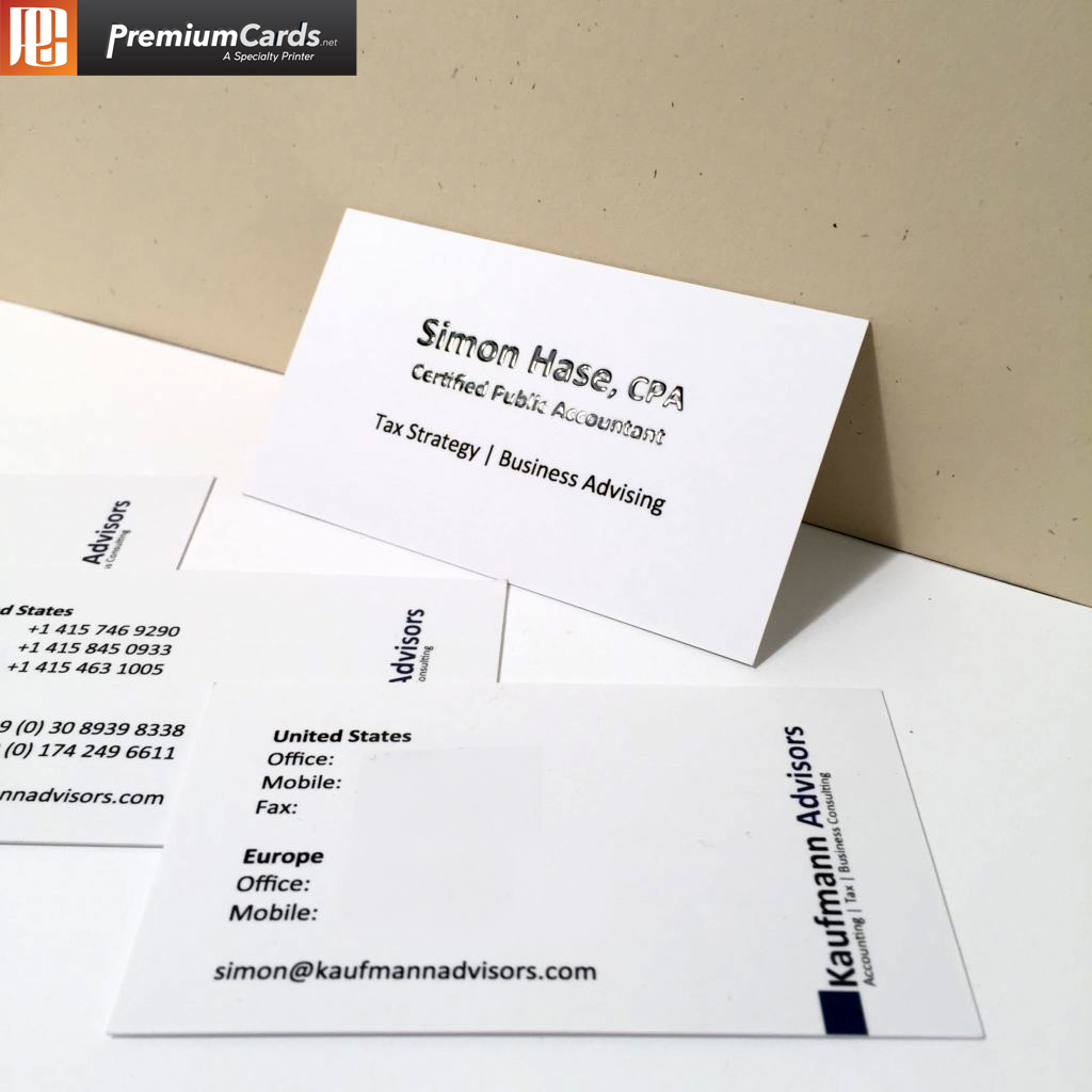 Raised Spot Uv Business Cards Premiumcards