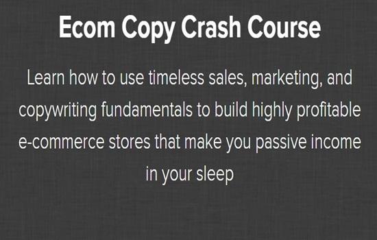 Ecom Copy Crash Course