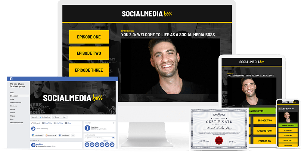 Jason Capital - Social Media Boss Download