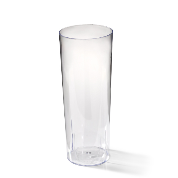 Plastic longdrinkglas 250cc