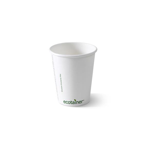 Biologisch afbreekbare koffiebeker 200cc