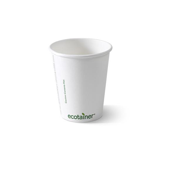 Biologisch afbreekbare koffiebeker 300cc