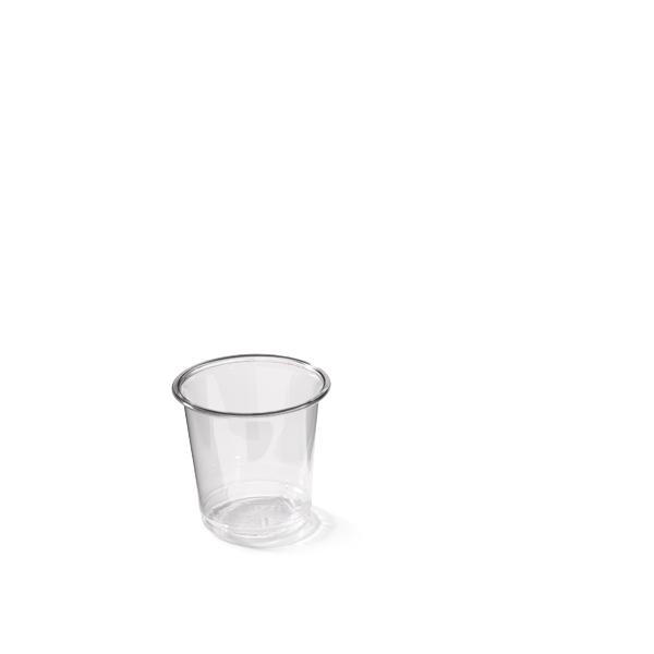Borrel glas van plastic 50cc