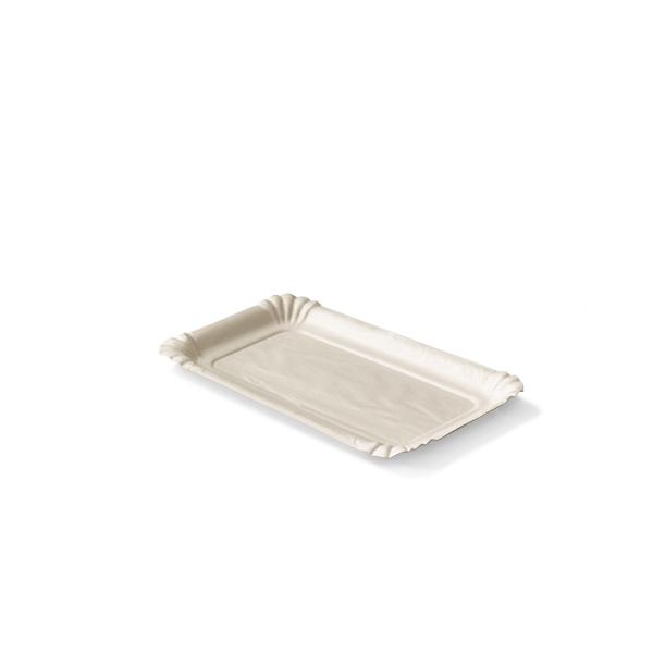 Kartonnen haringschaaltje van karton, 10x16cm