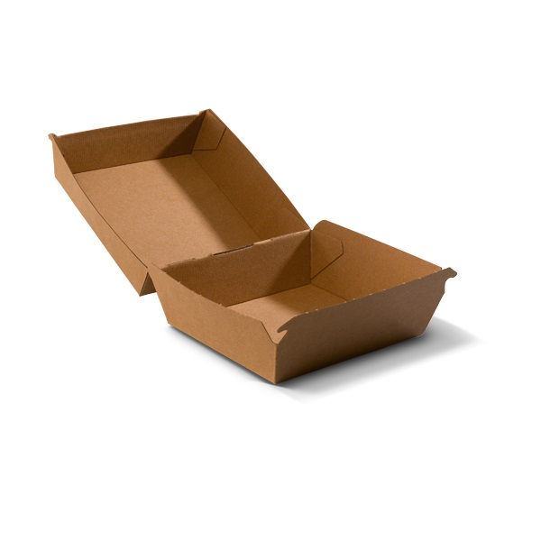 Kartonnen hamburgerbakjes