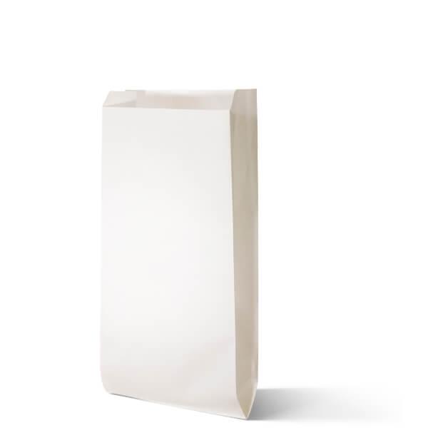 Snackzak wit met een inhoud 1 pond