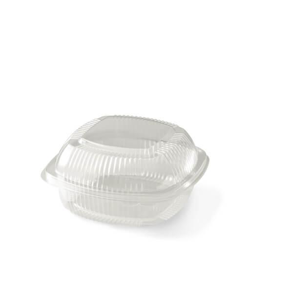 Transparante verpakking met vaste deksel