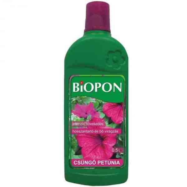 Biopon csüngő petúnia tápoldat