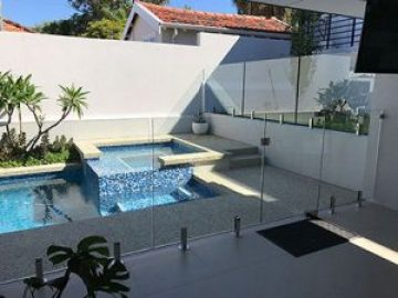 Glass pool fencing Perth