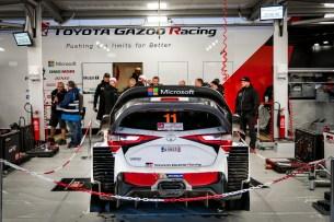 Toyota Gazoo Racing - serwis