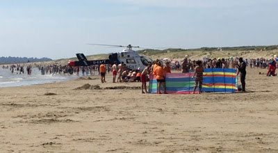 5 died in sand beach