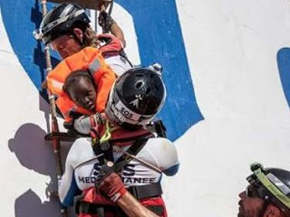 Nine African migrants drown while crossing the Mediterranean from Libya on rubber boat