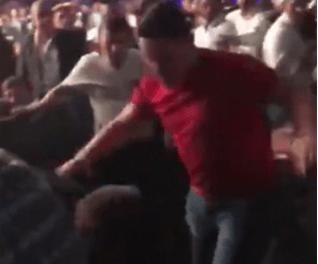 Video: Drunken woman's rants gets her boyfriend beaten up at a boxing match