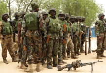 Nigerian Army speaks on being guilty of war crime