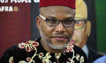 Nigerian government should produce Nnamdi Kanu in court on Tuesday –  Ejiofor