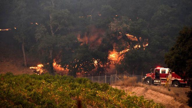 California Wildfire update