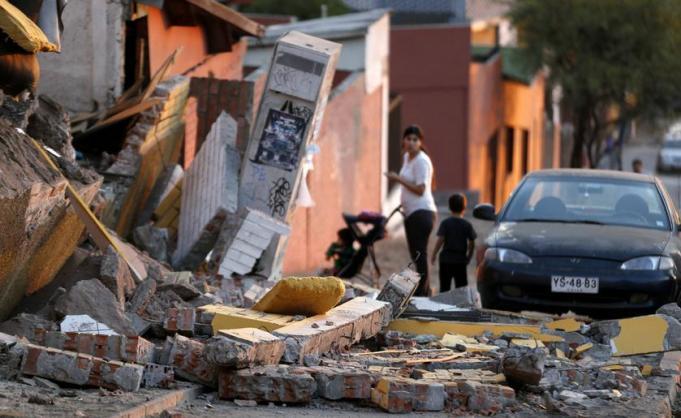 Magnitude-6.3 earthquake strikes northern Chile