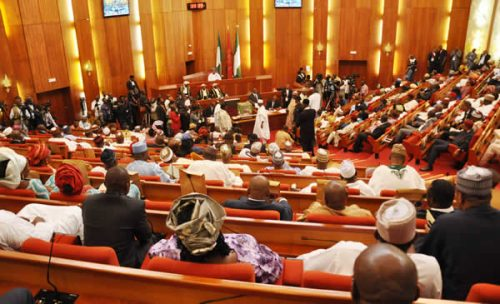 Nigerian Senate re-examines, passes three bills rejected by Buhari