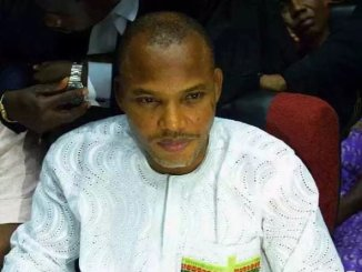 Nigerian govt fails to produce Kanu in court