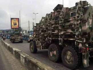 Nigerian Army loots Nnamdi Kanu's home