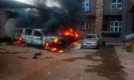 Properties razed in Anambra community after vigilante commander killed 27-year-old man six days to his wedding