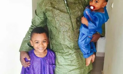 Cameroonian father allegedly strangles, stabs his three beautiful young children to death