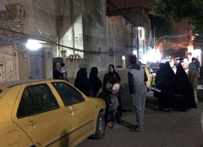 Earthquake in Iran_iran border