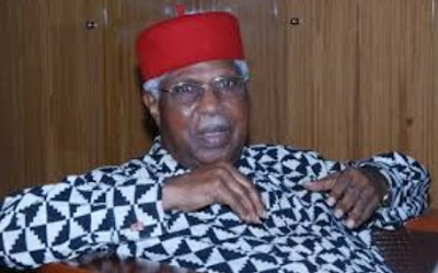 Alex Ekwueme Flown Abroad